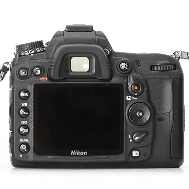 Nikon D7000 Back Focus Button