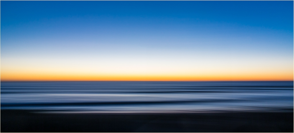 Beach Sunrise Abstract