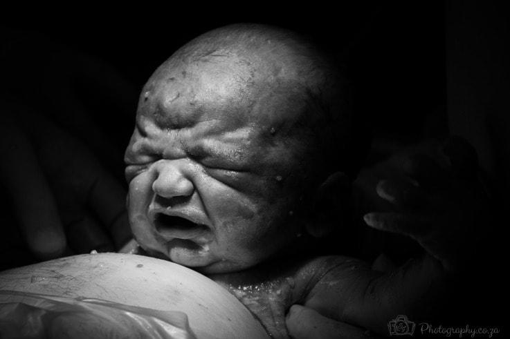 Newborn baby by Gareth Heasman