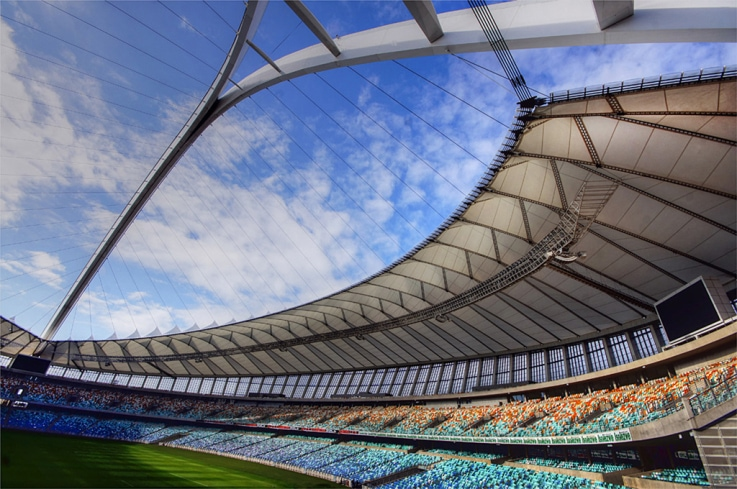 View at Mabhida Roof by Leon Pelser