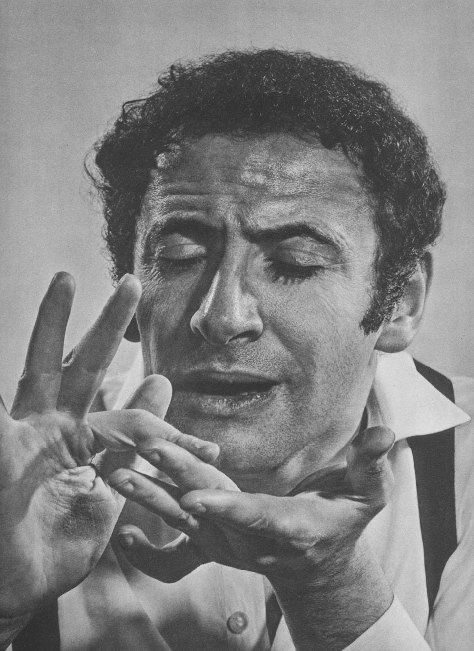 Marcel Marceau by Yousuf Karsh, 1956