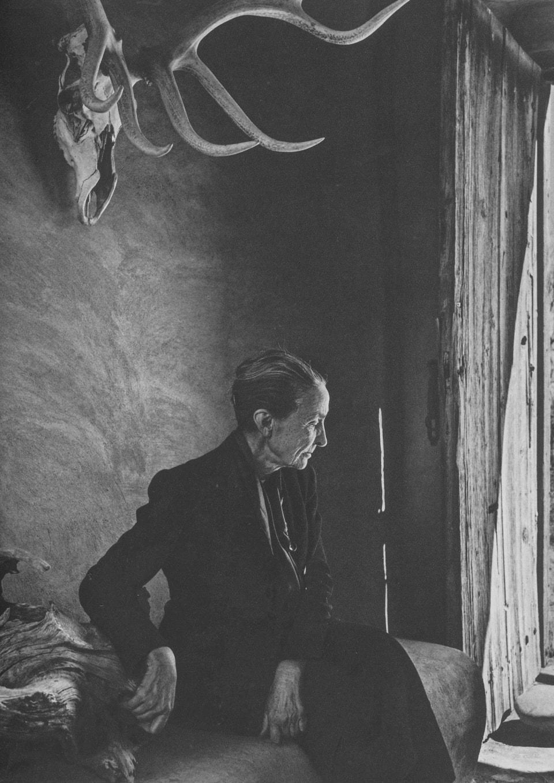 Georgia O'Keeffe by Yousuf Karsh, 1956