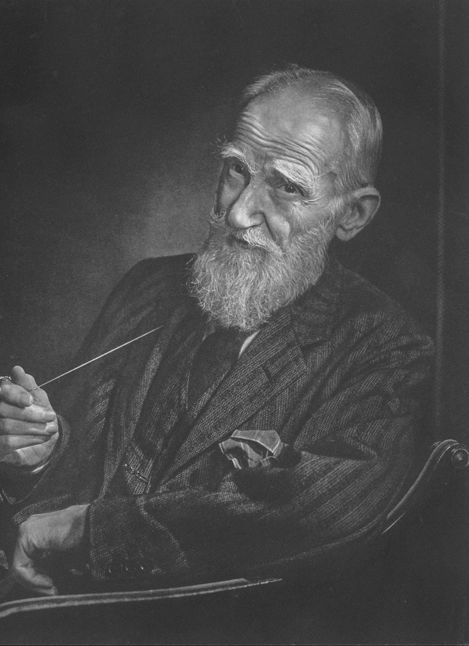 George Bernard Shaw by Yousuf Karsh, 1943