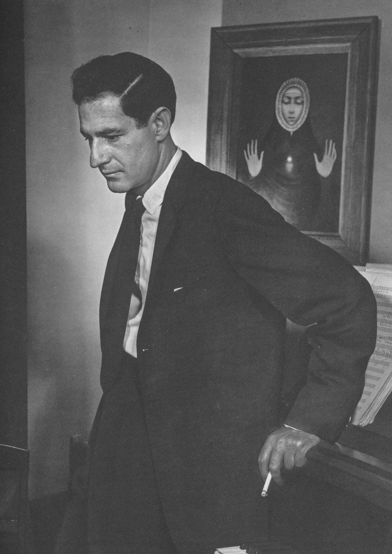 Gian Carlo Menotti by Yousuf Karsh, 1956