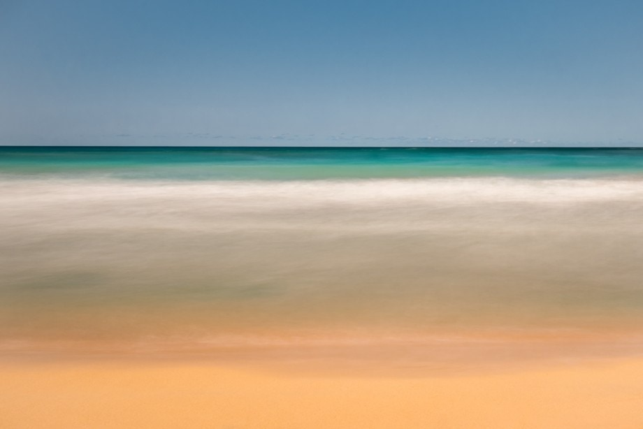 impressionistic seascape long exposure by Nadia de Lange