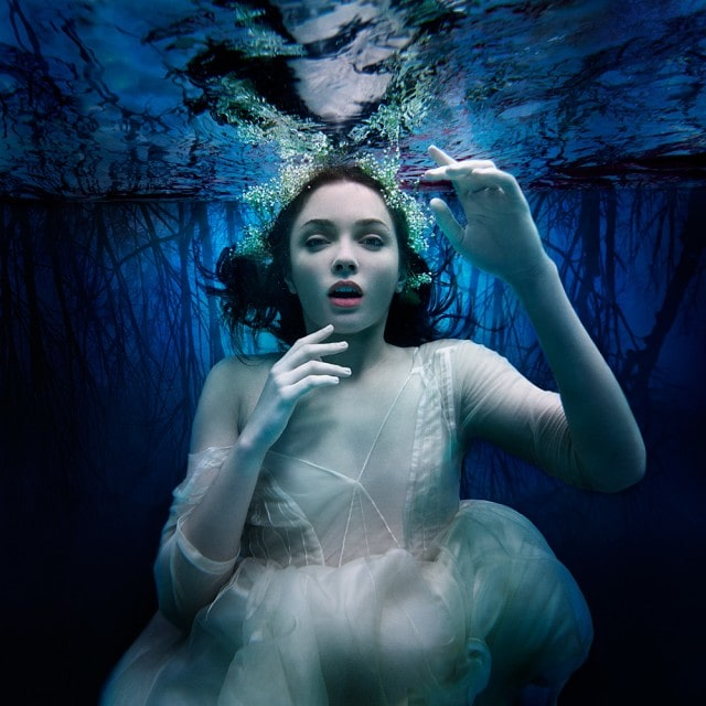 fine art underwater photo representing the barrier consciousness and reality by michael david adams