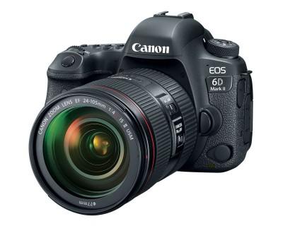 the canon eos 6d mark ii