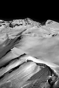 magnificent landscape scene of the alps by nadia de lange